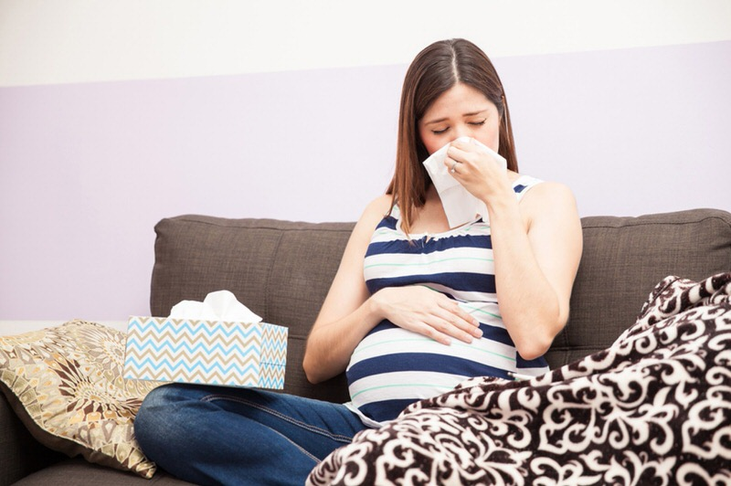 Cómo aliviar el catarro en el embarazo