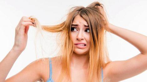 El clima, el secador o jabones fuertes son algunas causas de cabello seco
