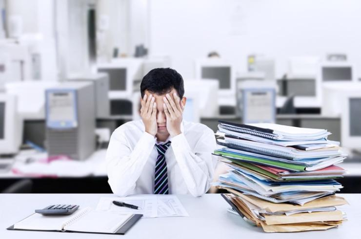 Causas del estrés en el trabajo