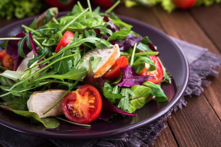 Ejemplo de cena saludable