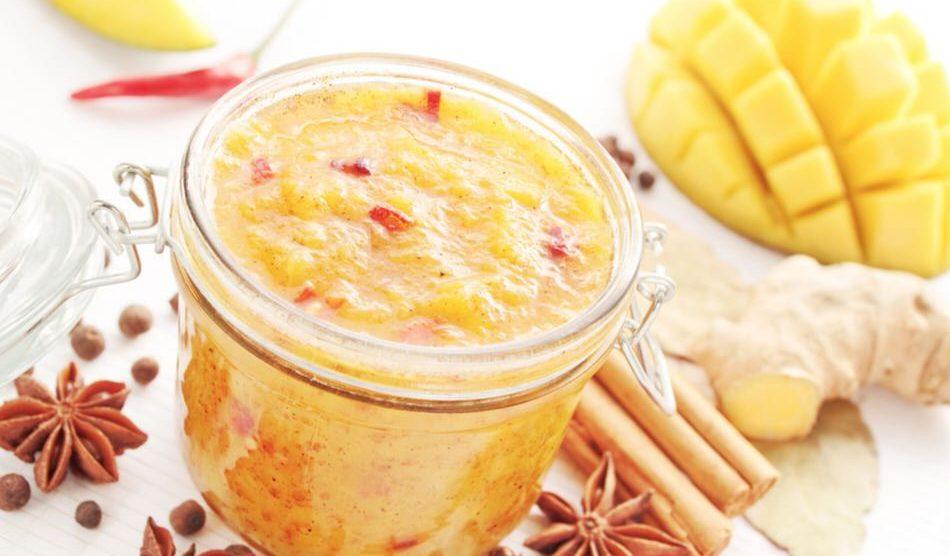Cómo hacer Chutney de mango