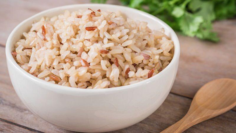 La cocción del arroz integral
