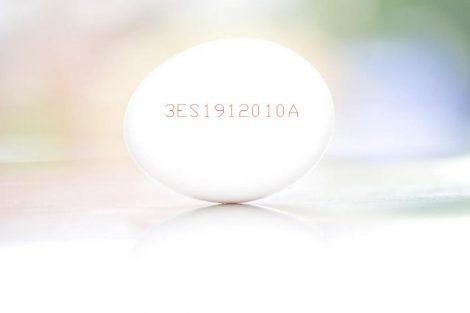 El significado de los números, letras y códigos del huevo