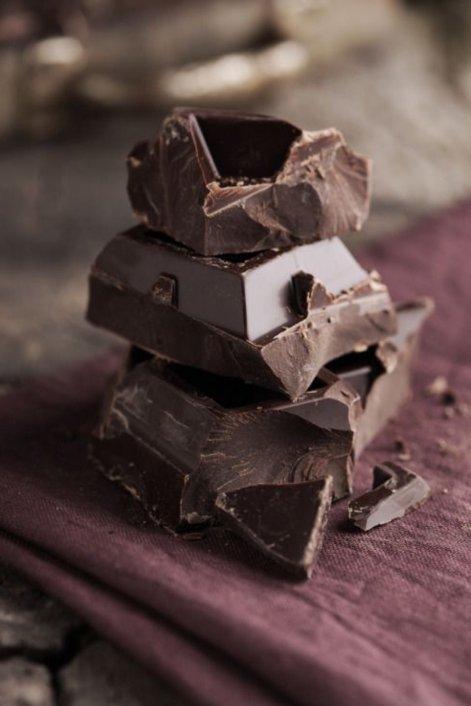 El chocolate es rico en hierro