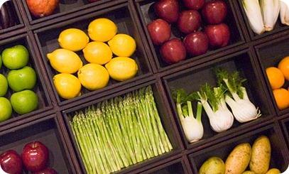 Comer más fruta y verduras