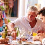 Las ventajas y beneficios de comer en familia