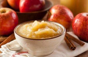 Compota o puré de manzana: receta fácil de hacer