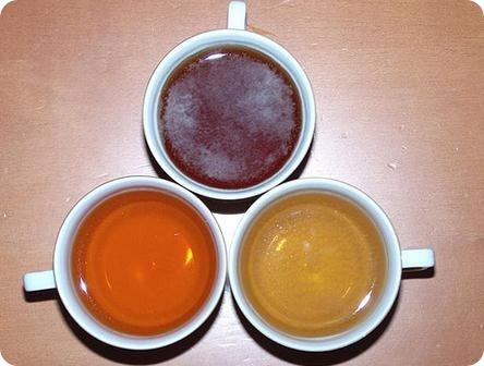 compuestos del té