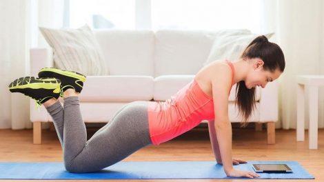 Consejos útiles para hacer ejercicio en casa