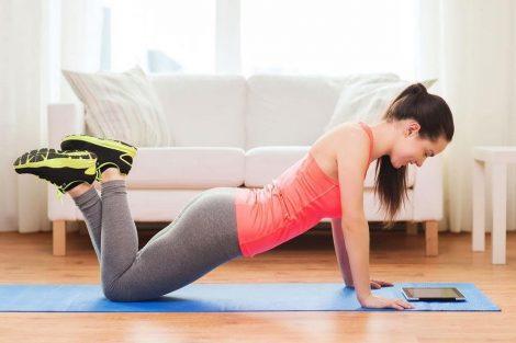 Consejos para hacer ejercicio en casa