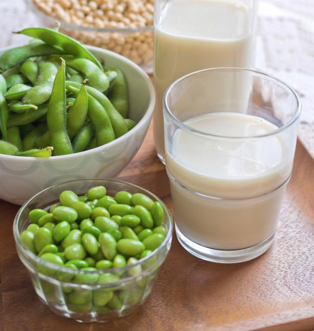 Consumo de leche de soja