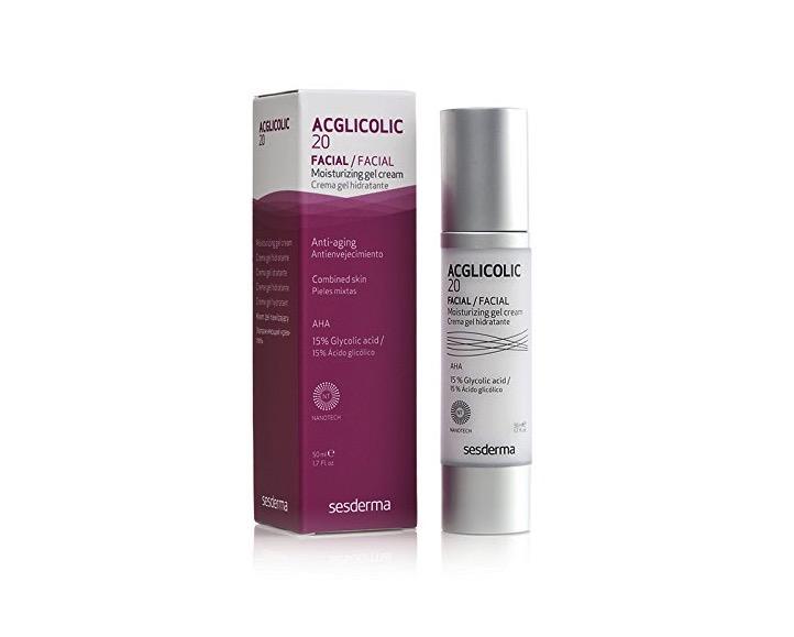 Crema gel hidratante con ácido glicólico de Sesderma