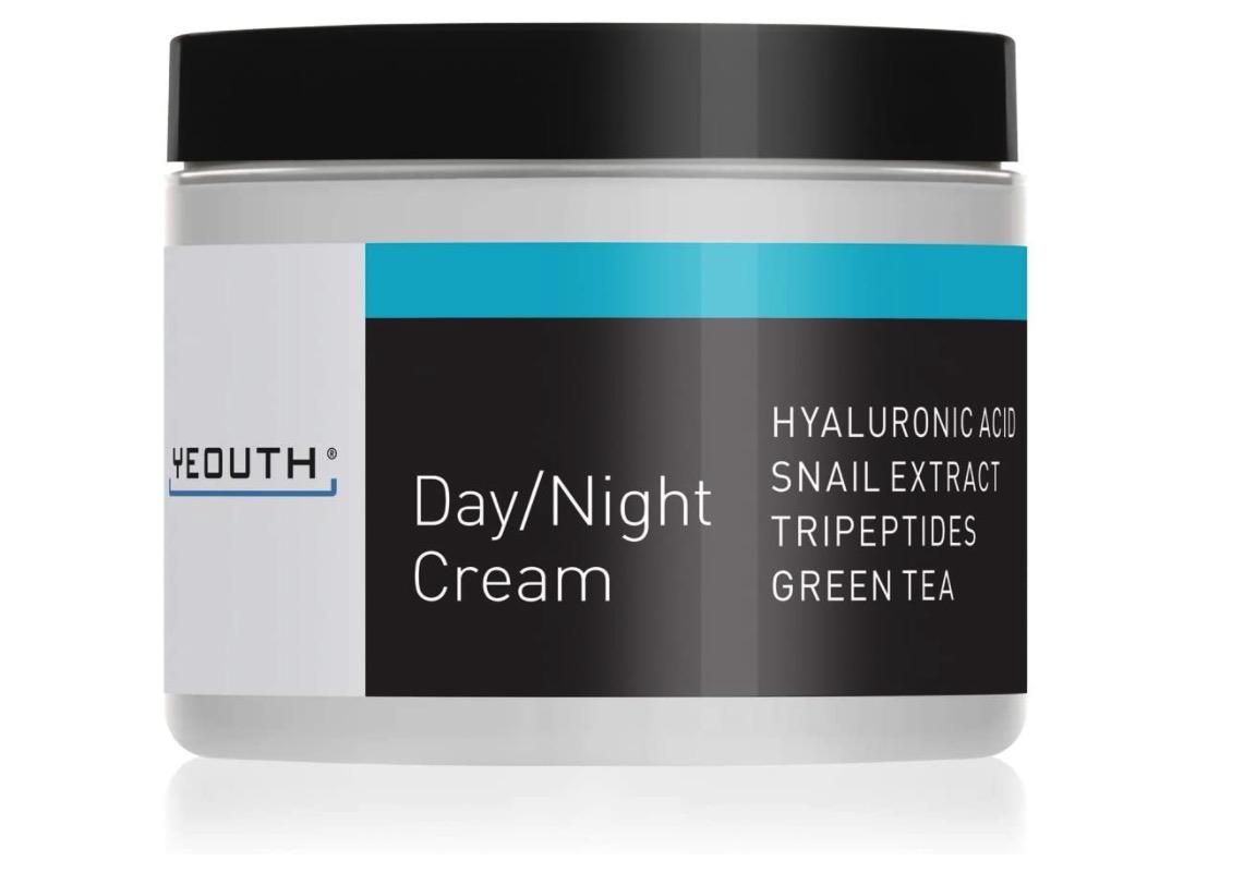 Crema hidratante antiarrugas y revitalizante de Yeouth