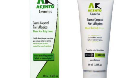 Crema para pieles atópicas de Akento Cosmetics