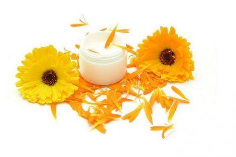 Cómo hacer crema de caléndula natural para la piel