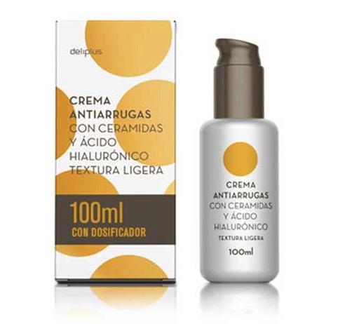 Crema con ceramidas y ácido hialurónico de Deliplus