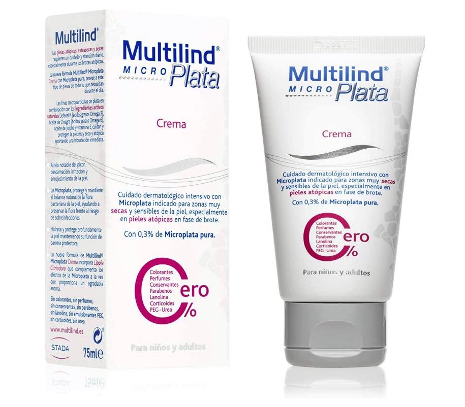 Crema Microplata para pieles atópicas de Multilind