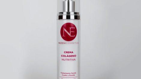 Crema hidratante nutritiva con colágeno de Nezeni Cosmetics