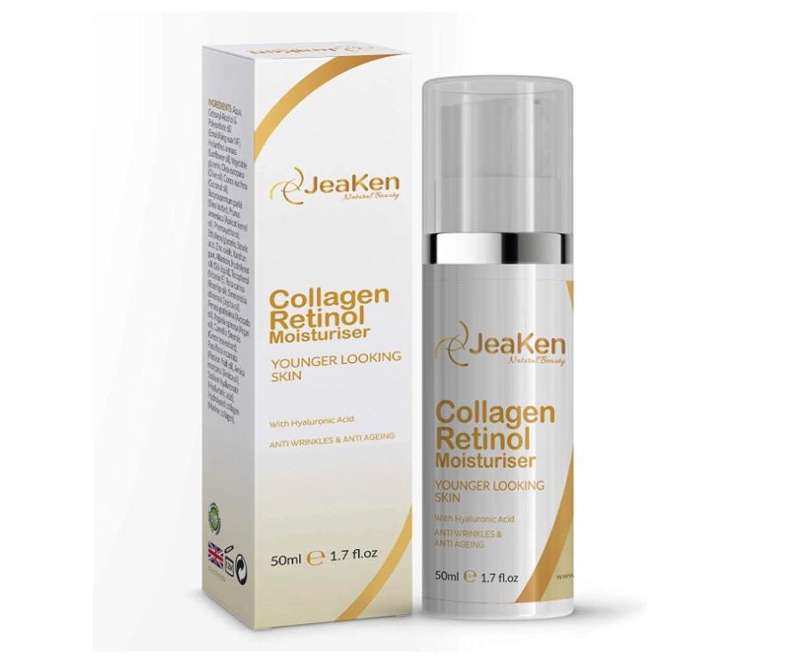 Crema hidratante con retinol de JeaKen