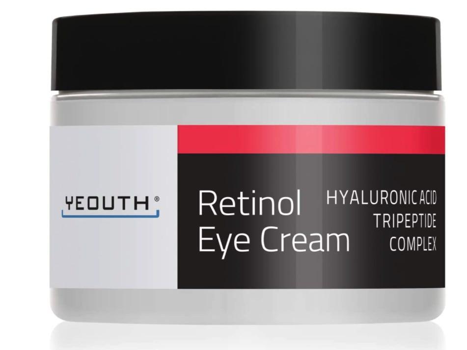 Crema para los ojos con retinol de Yeouth