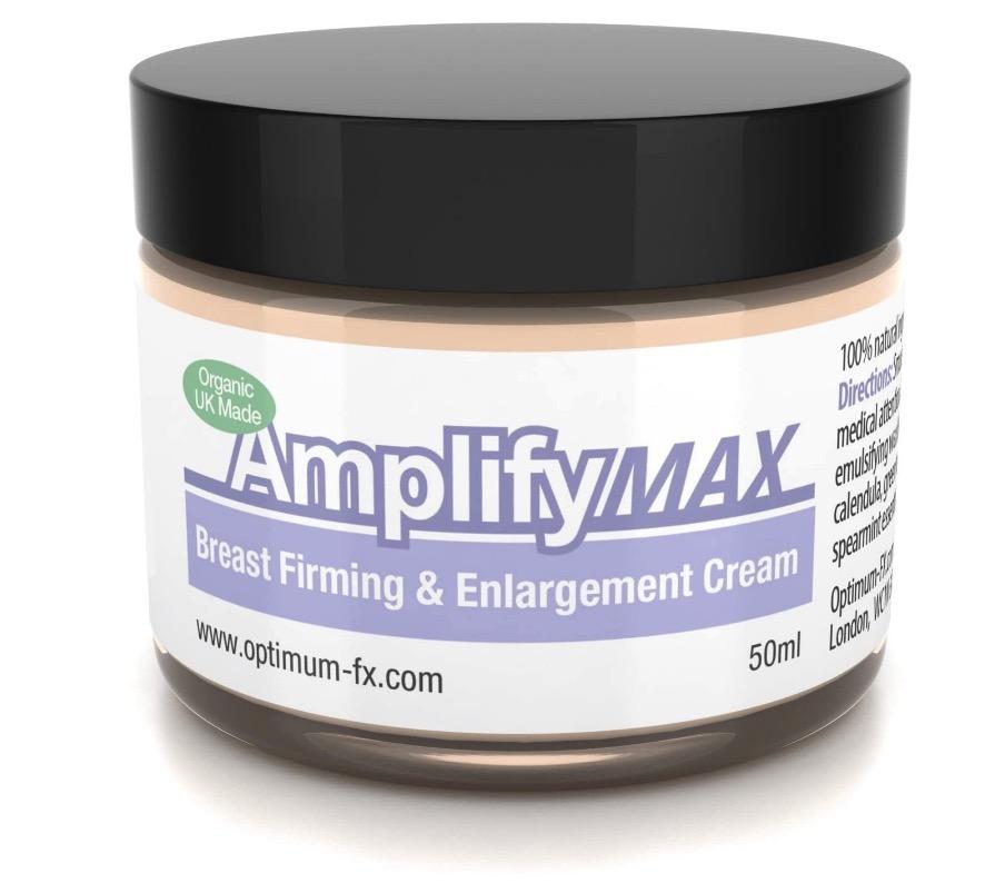 Crema reafirmante de senos mejorada Amplify MAX