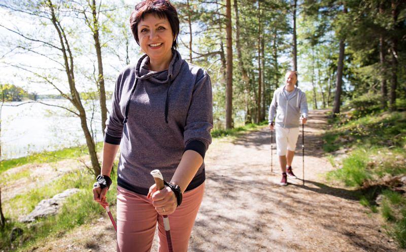 Propiedades de caminar para la salud