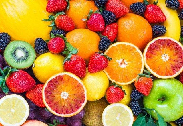 Las frutas con más calorías