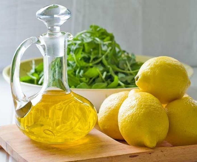 1 cucharada de aceite de oliva con limón