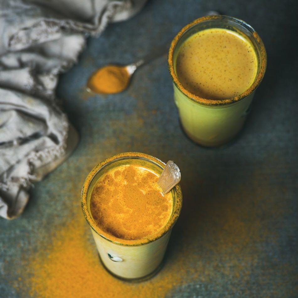 Cómo hacer Cúrcuma Latte