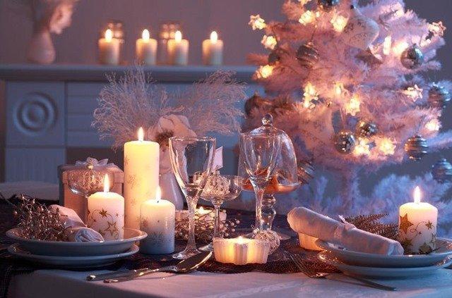 Consejos de decoración para la mesa de Navidad