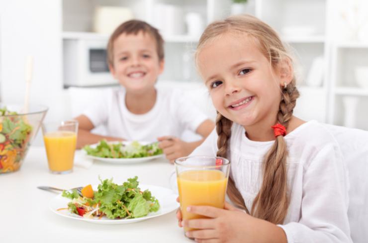 Cómo reforzar las defensas de los niños