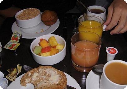 Desayuno para un buen rendimiento físico