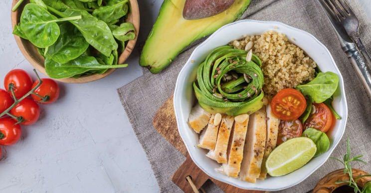 Alimentos deliciosos en la menopausia