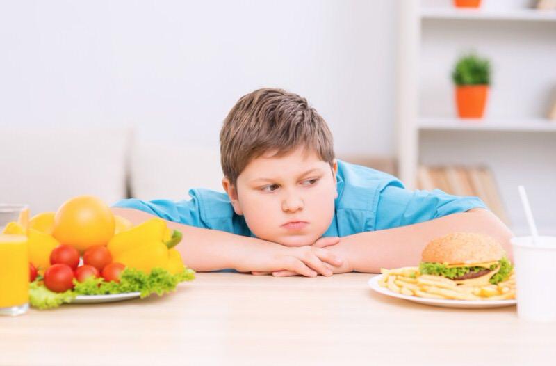 Dieta en la obesidad infantil