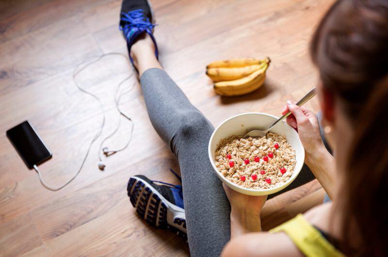 La dieta sana es ideal para un vientre plano