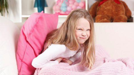 Dolor de estomago en niños pequeños