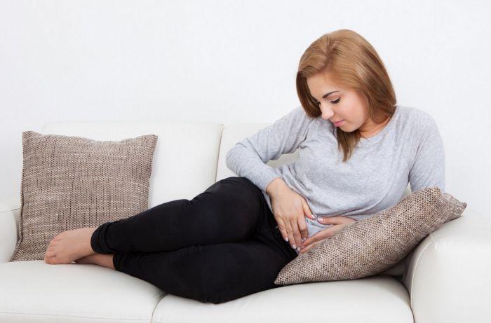 Los dolores de menstruación en el embarazo
