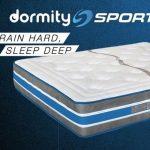 Dormity Sport, los nuevos colchones ergonomicos para deportistas