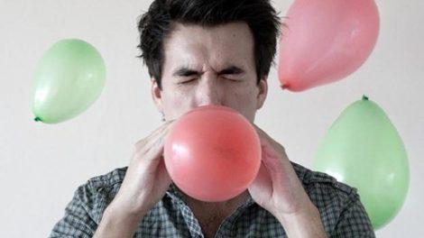 Efectos del gas de la risa
