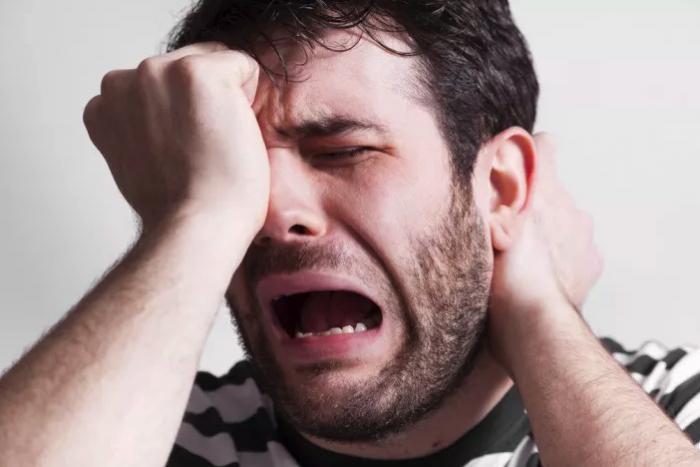 No llorar es malo para la salud