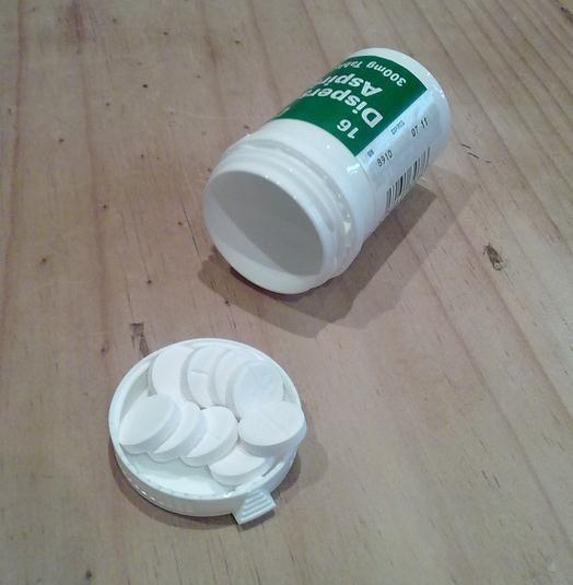 Efectos secundarios de la aspirina