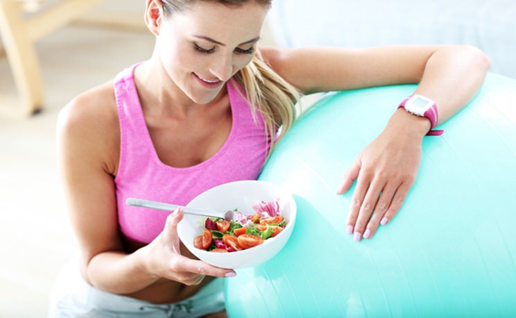 Ejercicio y alimentacion sana