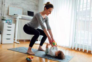5 ejercicios que podéis hacer en casa para esta en forma
