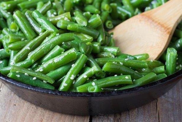 Receta de judías verdes en ensalada