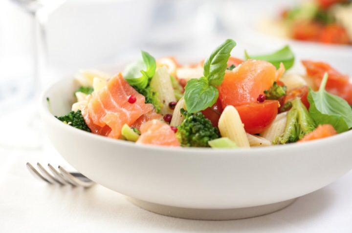 Receta de ensalada de salmon