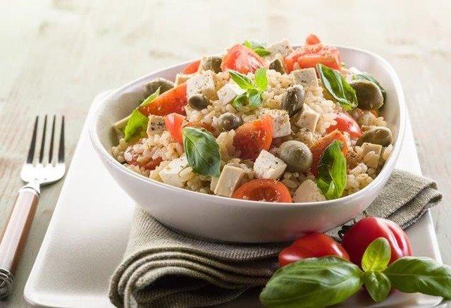 Cómo hacer ensaladas con arroz