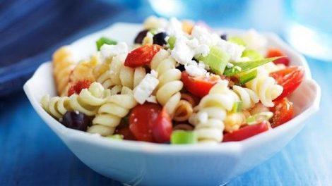 Recetas de ensaladas de pasta