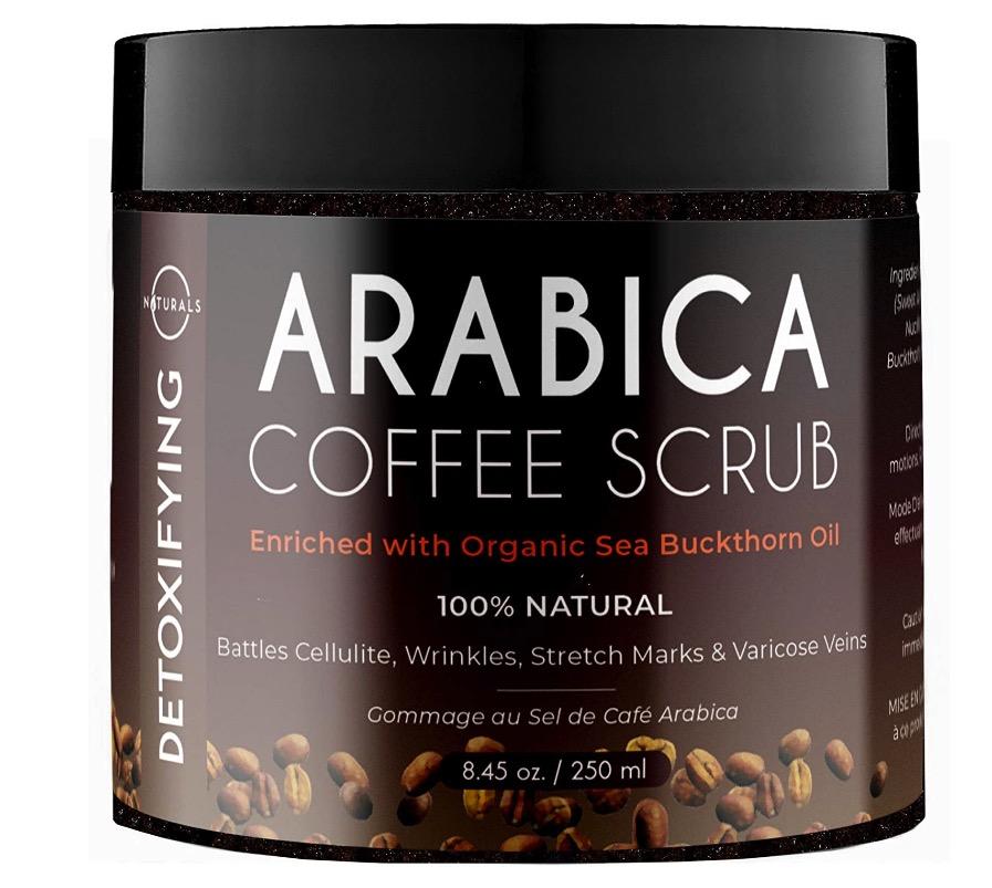 Exfoliante natural con café de O Naturals
