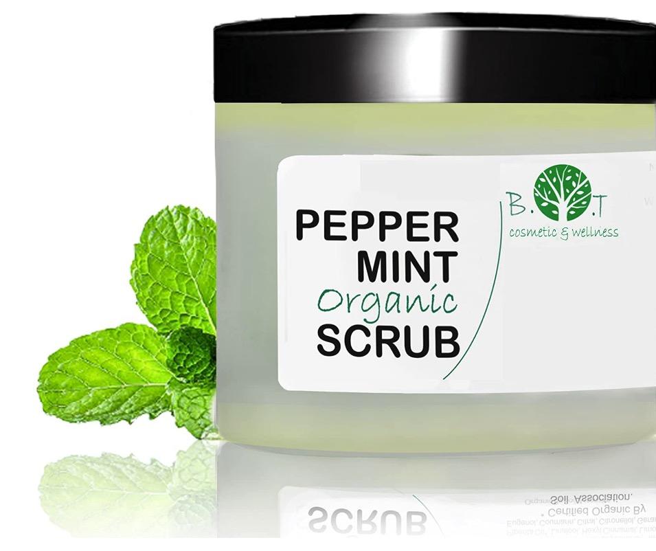 Exfoliante ecológico y refrescante con ingredientes bio de B.O.T Cosmetic & Wellness