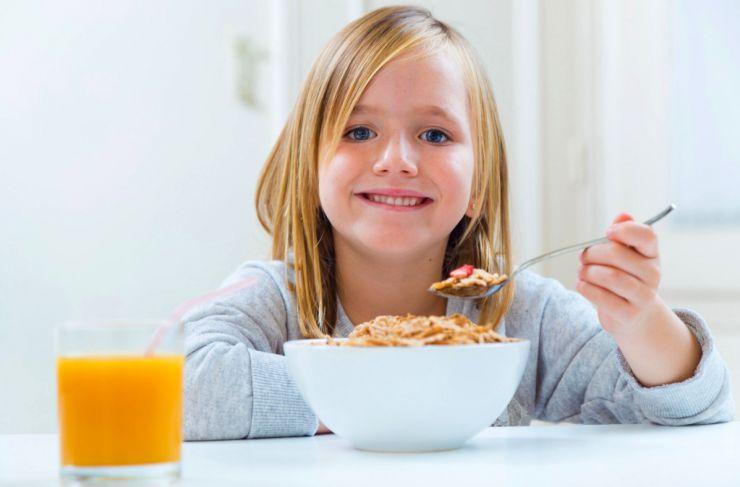 Consumo de fibra en niños
